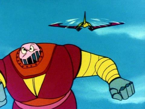 第62話 意外!? ボスロボット空中飛行