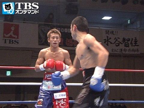 粉川拓也×池原繁尊(2012) 日本フライ級王座決定戦