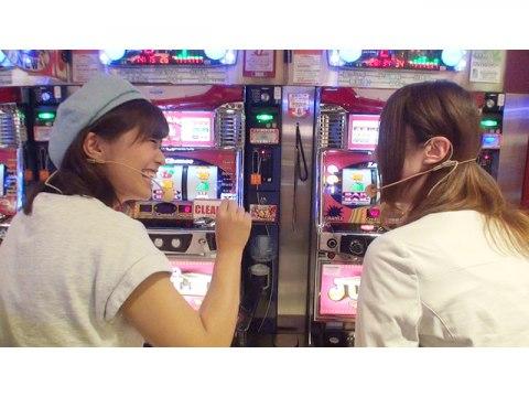 #3(1) スロットマクオス 安枝瞳VS三上夏奈 ゴーゴージャグラー