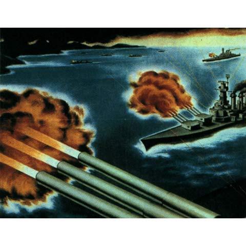 レイテ沖大海戦 資料映像