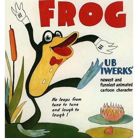 蛙のフリップ ファニー・フェイス