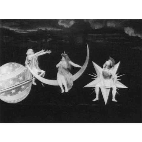 メリエス 日蝕と満月