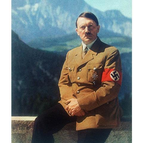 ナチスドイツのカラー映像