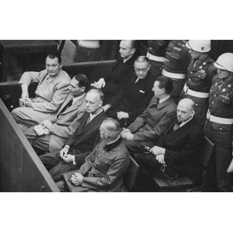 ニュルンベルク裁判 資料映像