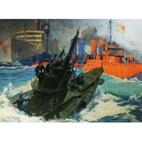 第一次世界大戦 Uボートの戦い 資料映像