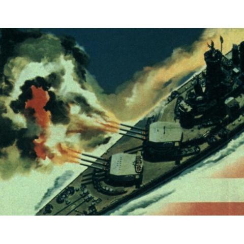 21. 太平洋米潜の戦い 海での勝利 資料映像