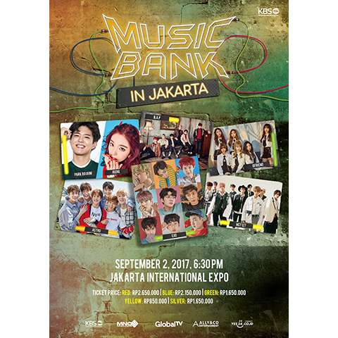 2017 Music Bank World Tour in Jakarta