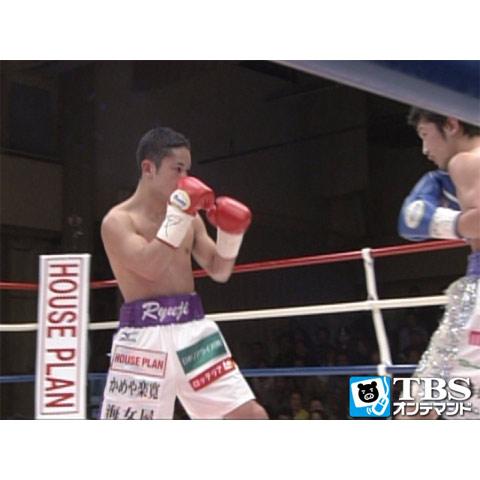 原隆二×岩橋裕馬(2013) 日本ミニマム級タイトルマッチ