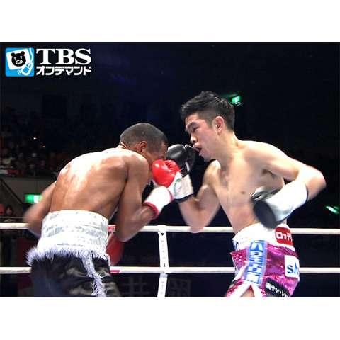 井岡一翔×ジャン・ピエロ・ペレス(2014) フライ級世界前哨戦
