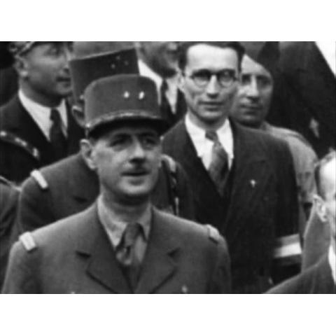 <衝撃の映像・第二次世界大戦> パリ解放