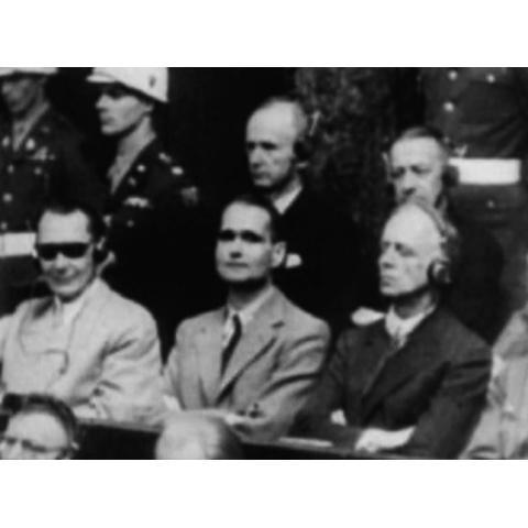 <衝撃の映像・第二次世界大戦> ニュルンベルク裁判