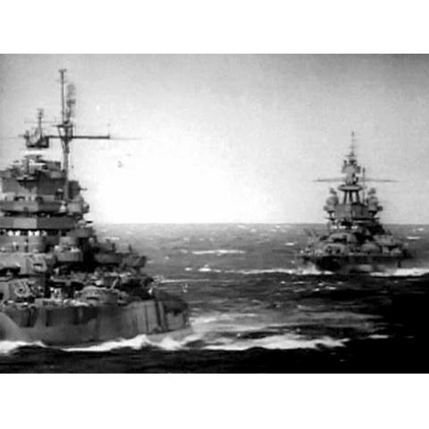 <衝撃の映像・太平洋戦争> 激闘!レイテ沖海戦