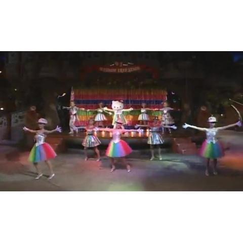 虹色のパーティ/リトルキッズの大行進Go!Go!夢旅行