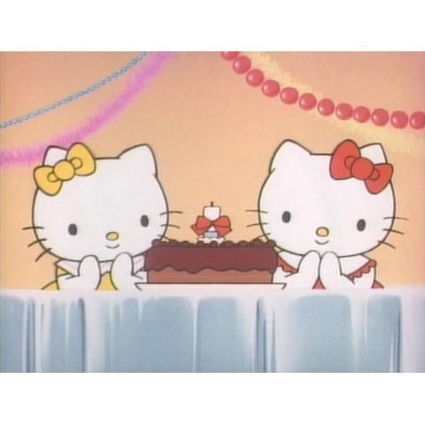 キティとミミィのハッピーバースデー