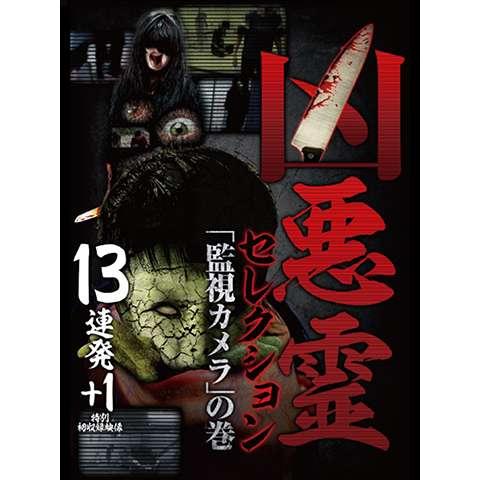 凶悪霊 セレクション 「監視カメラ」の巻 13連発+1