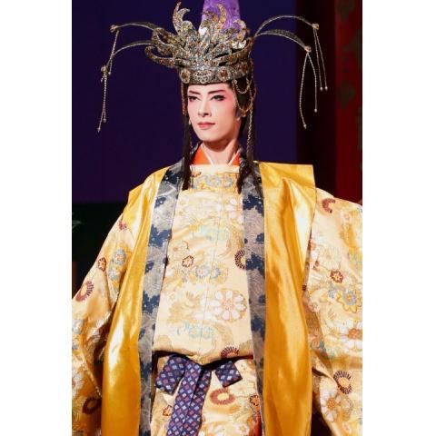 あかねさす紫の花<中大兄皇子役替わり:明日海りお>('18年花組・博多座)