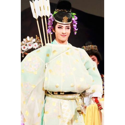 あかねさす紫の花<大海人皇子役替わり:明日海りお>('18年花組・博多座)