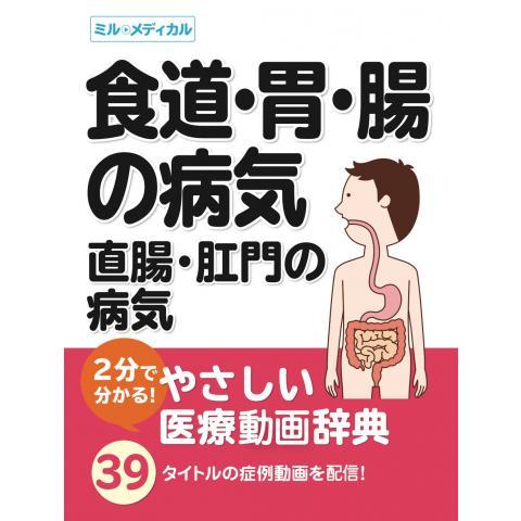 2分で分かる!やさしい医療辞典「食道・胃・腸/直腸・肛門の病気」