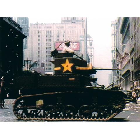 戦時下のパレード カラー記録