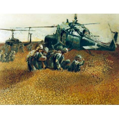 ベトナム戦争と画家 資料映像