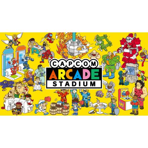 「Capcom Arcade Stadium(カプコンアーケードスタジアム)」プロモーション映像