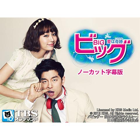 韓国ドラマ「ビッグ~愛は奇跡<ミラクル>~」ノーカット字幕版(コン・ユ、イ・ミンジョン)