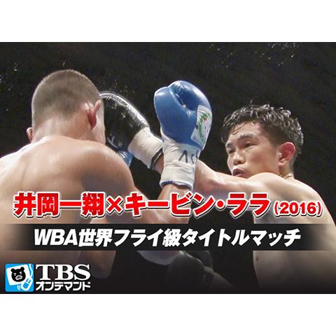 井岡一翔×キービン・ララ(2016) WBA世界フライ級タイトルマッチ