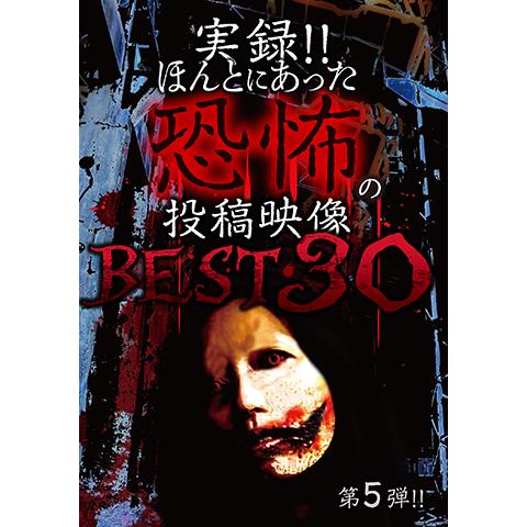 実録!!ほんとにあった恐怖の投稿映像 BEST30 第5弾