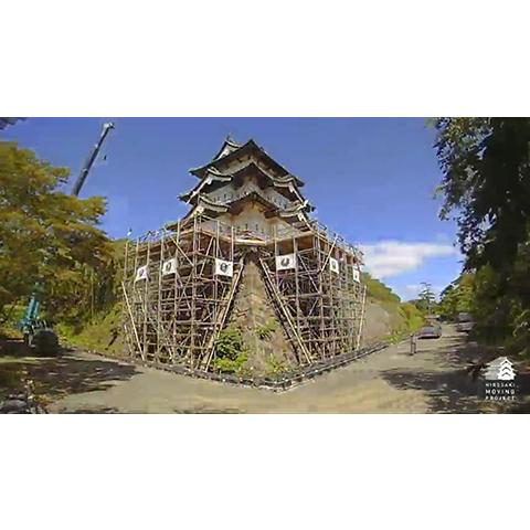 HIROSAKI MOVING PROJECT タイムラプス