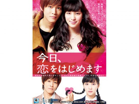 映画「今日、恋をはじめます」
