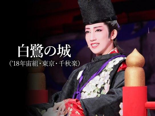 白鷺の城('18年宙組・東京・千秋楽)
